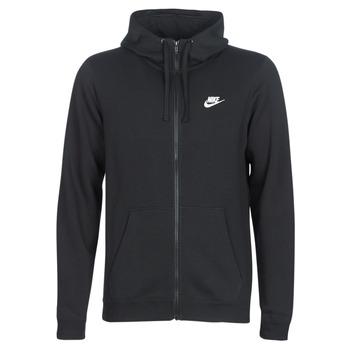material Men sweaters Nike HOODIE SPORT Black