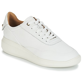 Shoes Women Low top trainers Geox D RUBIDIA White