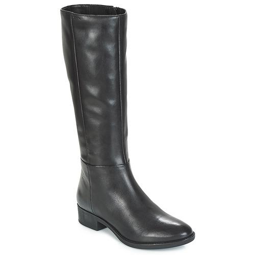 Shoes Women Boots Geox D FELICITY Black