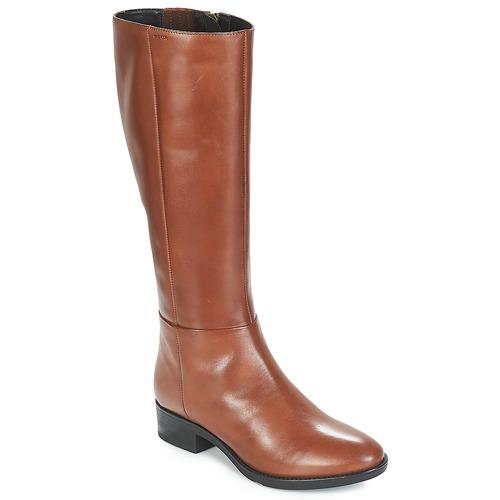 Shoes Women Boots Geox D FELICITY Brown