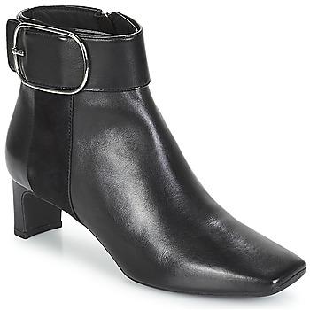 Shoes Women Ankle boots Geox D VIVYANNE MID Black