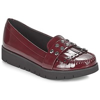 Shoes Women Loafers Geox D BLENDA Bordeaux