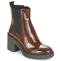 Shoes Women Ankle boots Geox D ADRYA MID Brown