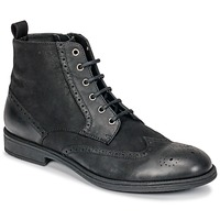 Shoes Men Mid boots Geox U JAYLON Black