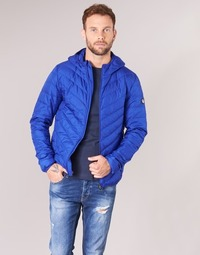 material Men Duffel coats Emporio Armani EA7 TRAIN CORE SHIELD 8NPB09 Blue / Electric