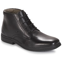 Shoes Boy Mid boots Geox JR FEDERICO Black