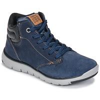 Shoes Boy High top trainers Geox J XUNDAY BOY Marine / Black