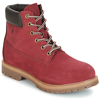 Shoes Women Mid boots Casual Attitude JORD Red