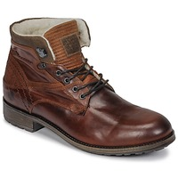 Shoes Men Mid boots Casual Attitude JOPA Brown