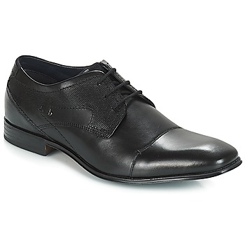 Shoes Men Derby shoes Bugatti ROMEI Black