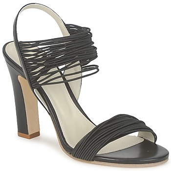 Shoes Women Sandals Jil Sander JS16121 Black