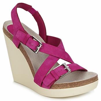 Shoes Women Sandals Jil Sander JS16295 Pink