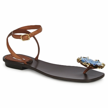 Shoes Women Sandals Marc Jacobs MJ16131 Brown / Blue