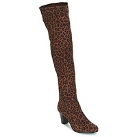 Shoes Women Boots André PRISCA 3 Leopard