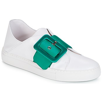 Shoes Women Low top trainers Minna Parikka ROYAL Emerald-white