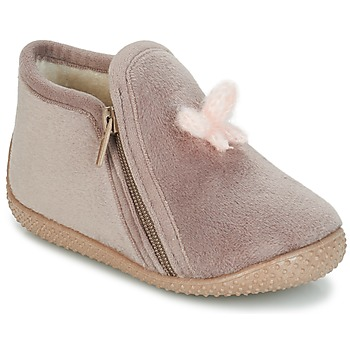 Shoes Children Slippers André REVE Taupe