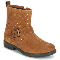 Shoes Girl Mid boots André SALMA Camel
