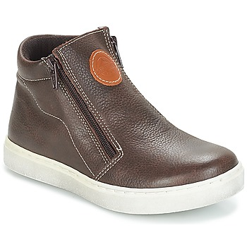 Shoes Boy Mid boots André HECTOR Brown