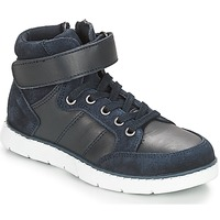 Shoes Boy High top trainers André TOM Marine