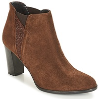 Shoes Women Ankle boots André ROSACE Brown