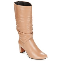 Shoes Women Boots André SARA Beige