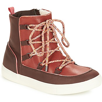 Shoes Women Mid boots André SNOW Brown