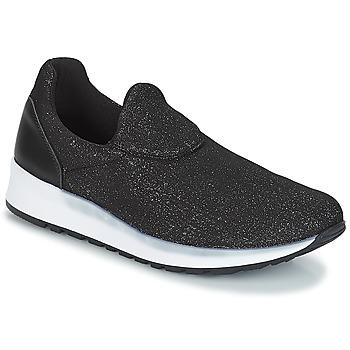 Shoes Women Slip ons André RHINESTONE Black
