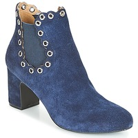 Shoes Women Ankle boots André ALESSIA Marine