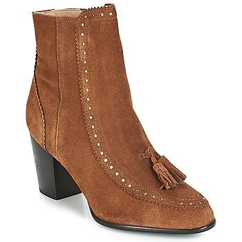Shoes Women Ankle boots André DORIANE Camel