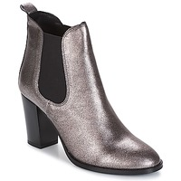 Shoes Women Ankle boots André CLAFOUTI Silver