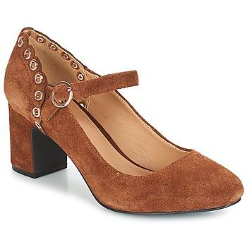 Shoes Women Court shoes André ALDA Camel