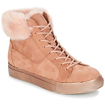 Shoes Women High top trainers André ILDA Pink