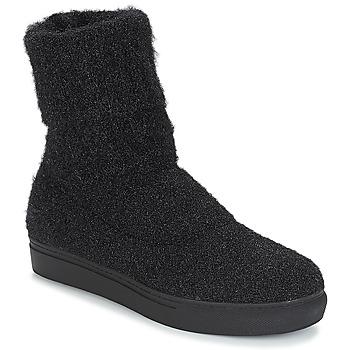 Shoes Women Mid boots André CROCUS Black