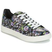 Shoes Women Low top trainers André FLOWER Black