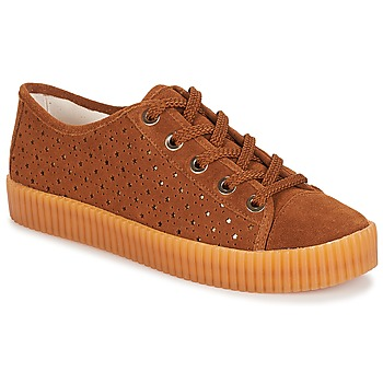 Shoes Women Low top trainers André STARLIGHT Brown