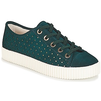Shoes Women Low top trainers André STARLIGHT Green