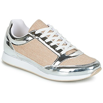 Shoes Women Low top trainers André SAFARI Silver