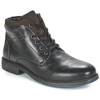 Shoes Men Mid boots André PRAO Black
