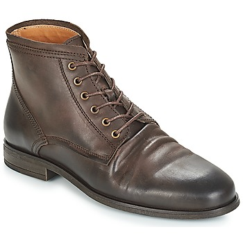 Shoes Men Mid boots André INVENTEUR Brown