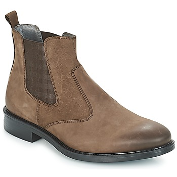 Shoes Men Mid boots André ZOOM Brown