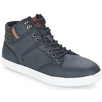 Shoes Men High top trainers André RAPPEUR Blue
