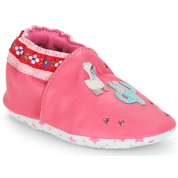 Shoes Girl Baby slippers André PERUVIENNE Pink
