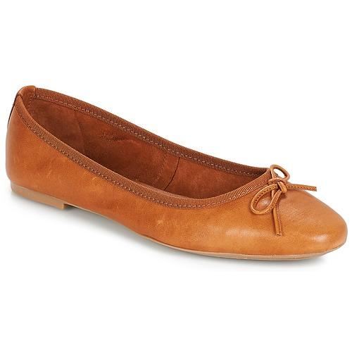 Shoes Women Ballerinas André PIETRA Brown