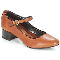 Shoes Women Ballerinas André FOLLOW Brown