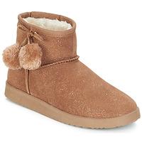 Shoes Women Mid boots André TOUCHOU Brown