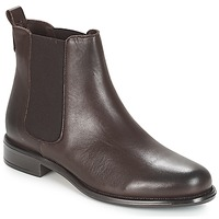 Shoes Women Mid boots André CARAMEL Brown