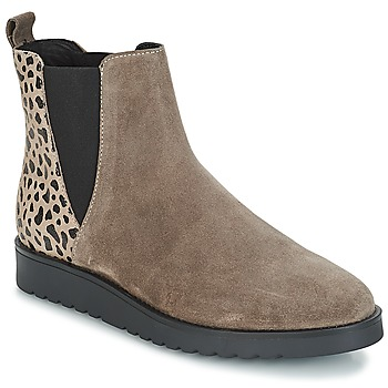Shoes Women Mid boots André TRULY Beige