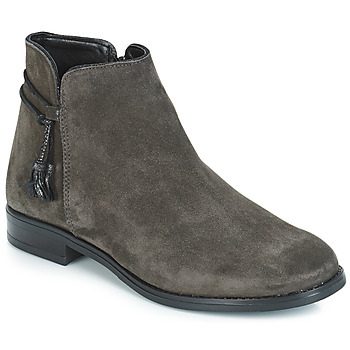 Shoes Women Mid boots André BILLY Grey