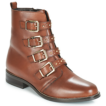 Shoes Women Mid boots André TODAY Brown