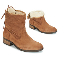Shoes Women Mid boots André TELEX Brown